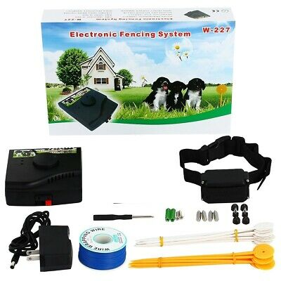 Underground Electric Fencing System - Contain 1 Dog Without a Physical Fence