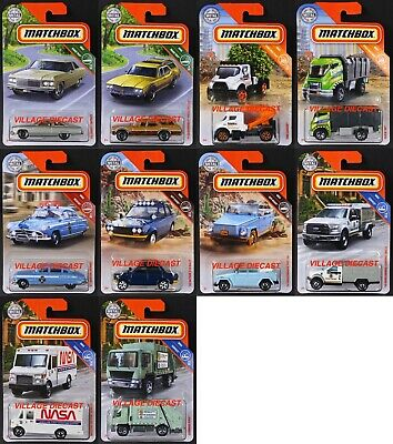 2019 Matchbox Wave E - 10 Vehicles / Chevy® Caprice / Ford Animal Control / MOC