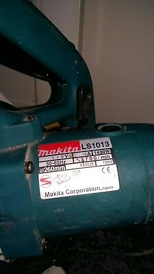 Makita ls1013 mitre saw motor gearbox assembly 110v