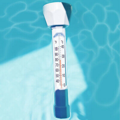Swimming Pool Spa Hot Tub Water Thermometer Floating Temperature Tester Meter