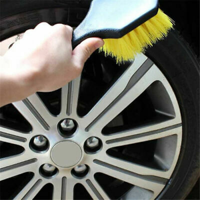 Car Wash Brushes Handle Wheel Car Auto Scrub Washing Brush Cleaning Supply BA