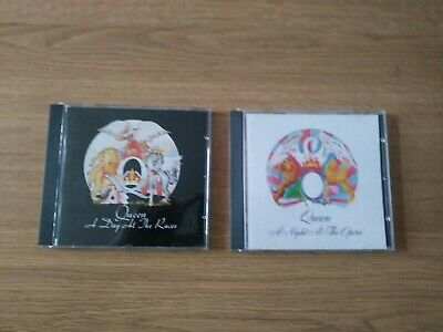 Queen A Day At The Races N A Night At The Opera Cds