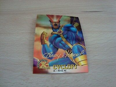 Fleer Ultra X-Men Chromium - Gold Signature - Cyclops