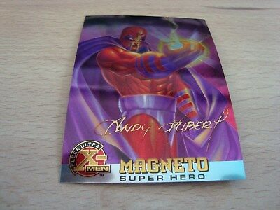 Fleer Ultra X-Men Chromium - Gold Signature - Magneto