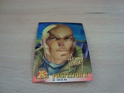 Fleer Ultra X-Men Chromium - Gold Signature - Professor X