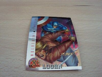 Fleer Ultra X-Men Chromium - Gold Signature - Logan