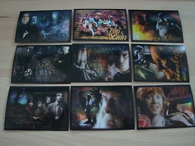 ArtBox Harry Potter and the Half-Blood Prince - Promo - 9 Card Set