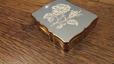 """Vintage Swiss Reuge Wind-up """"Musica"""" Stratton Compact"""