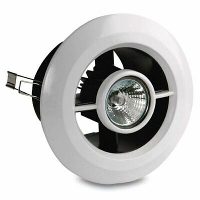 """AIR VENT WITH LED LIGHT AND TRANSFORMER 3W 4"""" Cool White / Warm White"""