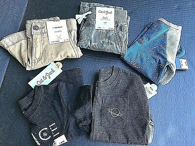 Boys Clothes Size 18 Months - Bundle Of 5 Pieces - All NEW With Tags   -AB29