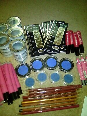 makeup joblot new 66 items maybeline loreal ect