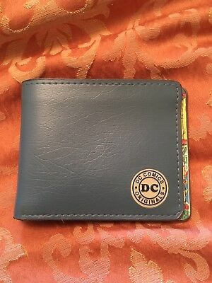 DC Wallet New Unused 4 1/2 Inches By 3 1/2 Inches