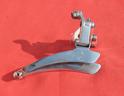 1st generation Campagnolo C Record Front Derailleur, Clamp-on 28.6mm