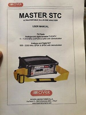 Rover Master STC Analyzer