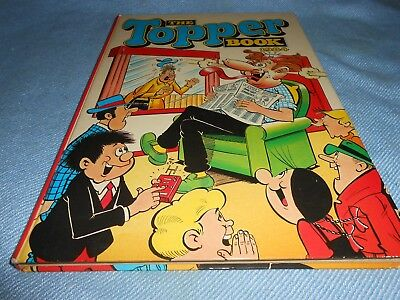 Vintage UK Annual - THE TOPPER BOOK 1984