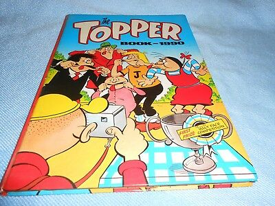 Vintage UK Annual - THE TOPPER BOOK 1990