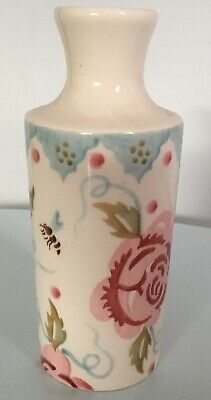 Emma Bridgewater Rose And Bee Small Ink Vase  🌹🐝  First quality