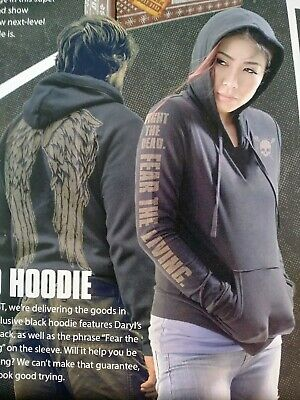 The Walking Dead Supply Drop Box AMC EXCLUSIVE Daryl Dixon XL WINGED HOODIE