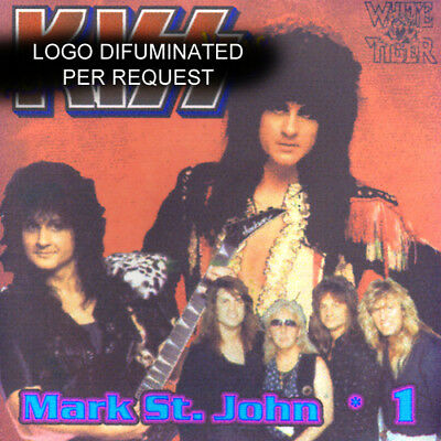 MARK ST JOHN *DEMOS CD-1 Peter Criss White Tiger Bruce Kulick Ken Tamplin KISS