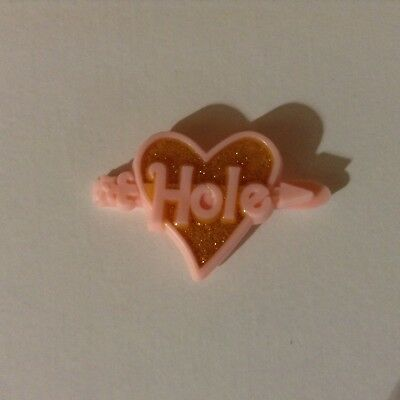 HOLE Pink Glitter Hair Clip Courtney Love Live Through This Tour '94