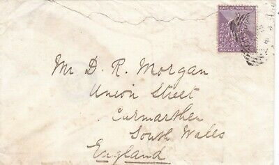 Cape of Good Hope South Africa 1887 Cvr to Carmarthen Wales GB 6d Rate