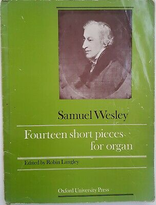 FOURTEEN SHORT PIECES FOR ORGAN - Samuel Wesley Vintage Organ Sheet Music