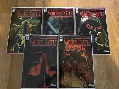 Star Wars Adventures: Tales from Vader's Castle #1 #2 #3 #4 #5 1st NM