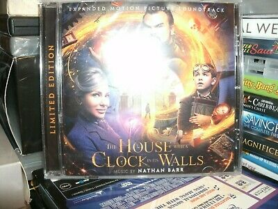 The House With A Clock In Its Walls,film Soundtrack,ltd Edition,inc Signed Cover