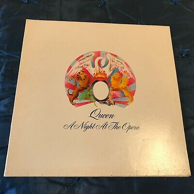Rock LP Record Queen Night at the Opera 7E-1053 1975 Bohemian Rhapsody