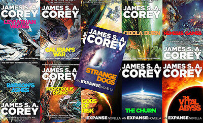 The EXPANSE Series By James S.A. Corey (11 MP3 Audiobook Collection)