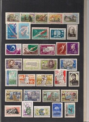 Russia & Soviet union 1961-1963 lot mnh**
