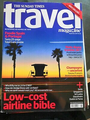 The Sunday Times Travel Magazine Issue 164 Sept 2017 - France Spain Portugal