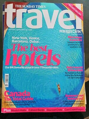 The Sunday Times Travel Magazine Issue 165 October 2017 - Canada, Italy & hotels