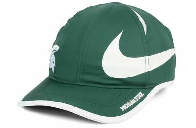 huge selection of 5f933 96bb9 Michigan State Spartans Nike Featherlight Dri Fit Hat Cap