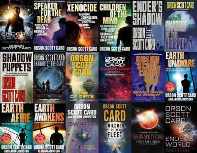 The ENDER'S GAME Series By Orson Scott Card (19 MP3 Audiobook Collection)