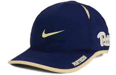 new style 889ae 28a04 Pittsburgh Panthers Nike Featherlight Dri Fit Hat Cap