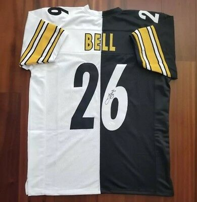be7558e16ff LE VEON BELL  26 Signed Steelers Color Rush Jersey Autographed JSA ...