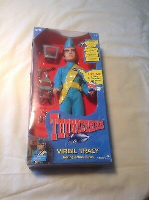 Thunderbirds Virgil Tracy Carlton Talking Figure Gerry Anderson 1999 New Works