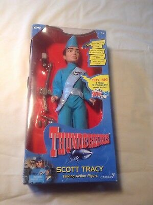 Thunderbirds Scott Tracy Carlton Talking Figure Gerry Anderson 1999 New Works