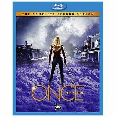 Once Upon a Time: The Complete Second Season (Blu-ray, 5-Disc Set) BRAND NEW!