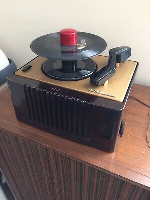 Nice Restored Vintage Rca Victor 45-Ey-2  45 Rpm  Record Player
