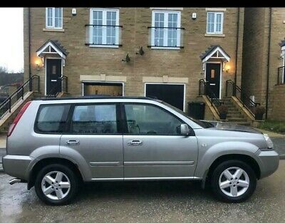 2004 Nissan X-Trail X Trail Silver 2.2 Litre 4X4 Full Leather Sat Nav