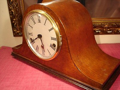 Majestic  1930s ,Vintage, Oak Cased, Westminster Chiming mantel clock.