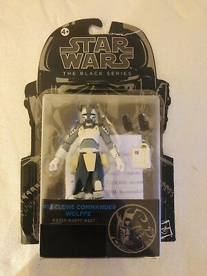Star Wars The Black Series Clone Commander Wolffe 3.75 inches New