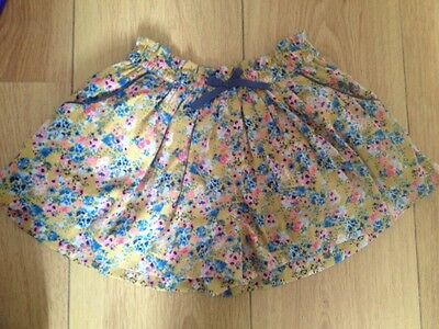 Next Floral Short Cullotes Bnwt 9-12 Months
