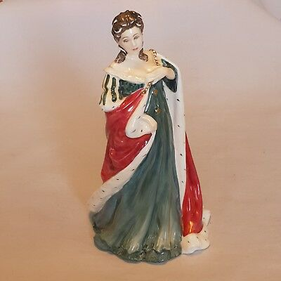 Royal Doulton Hn3141 Limited Edition Queens of the Realm  Queen Anne