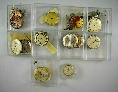 Vintage Benrus Selfwinding Electronic Manual Wind Mens Watch Movements LOT#1