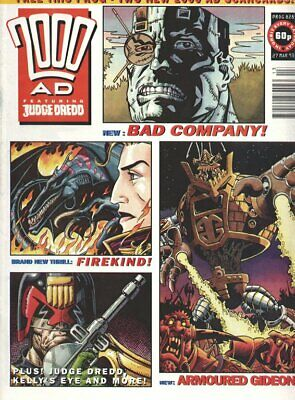 2000AD Comics Issue Prog 828 - 827 Judge Dredd. Firekind Avatar film plot All 13