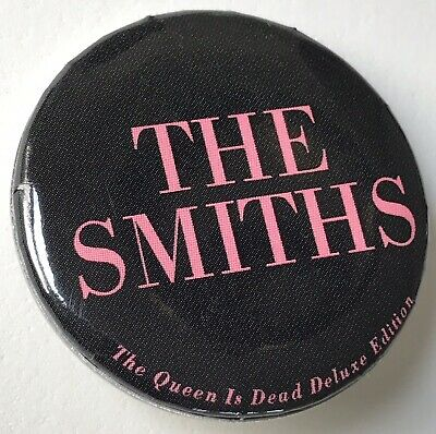 The Smiths - The Queen Is Dead Deluxe Editon Promo Pin Only Morrissey