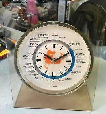 Lord King World Time Clock  Japan